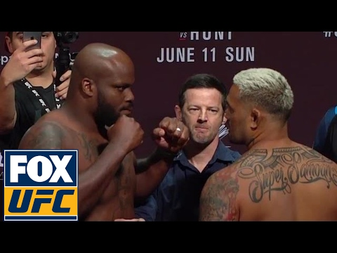 Derrick Lewis Vs. Mark Hunt | Weigh-In | UFC ON FOX