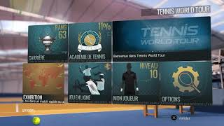 Tennis World Tour - Gameplay Demo Beta (Federer vs Gasquet) PS4