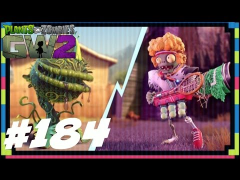 SERVE AND VOLLEY - Plants vs Zombies Garden Warfare 2 - Gameplay Part 184