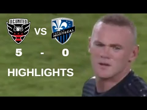 Wayne Rooney vs Montreal Impact Highlights | D.C. United vs Montreal Impact 29/09/2018