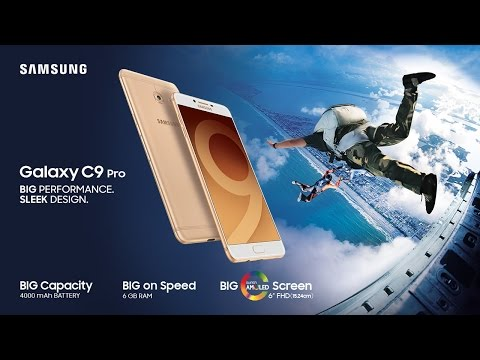 Samsung Galaxy C9 Pro: Official Introduction