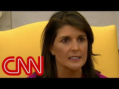 Nikki Haley announces resignation as UN ambassador