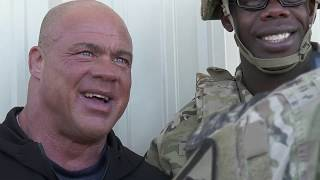 WWE Superstars spend time at Fort Hood