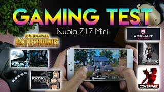 GAMING TEST NUBIA Z17 MINI, Masih Ok??