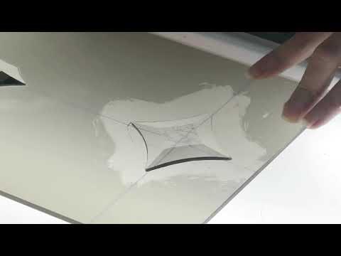 УФ склейка стекла и бевелсов. Видеоуроки по изготовлению накладных витражей.