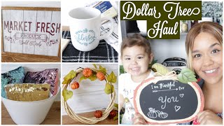 DOLLAR TREE HAUL AUGUST 2018 Fall and Farmhouse Finds