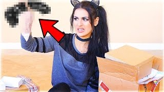 Top 5 MOST DISGUSTING THINGS Youtubers Unboxed! (SSSniperwolf, ComedyShortsGamer Tampon)