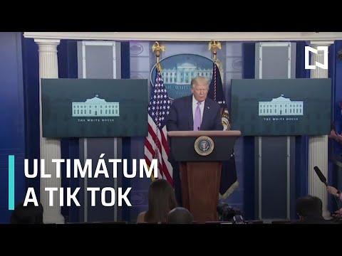 Donald Trump lanza ultimátum a Tik Tok - Sábados de Foro