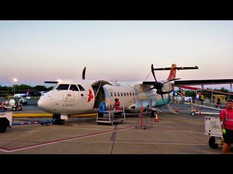 Island Air flight Honolulu - Kona