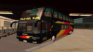 BUSES DEL MUNDO #3 || PERÚ || MARCOPOLO PARADISO 1800 G6 CRUZ DEL SUR || GTA SA || BY Deytrom ||