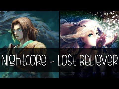 Nightcore - Lost Believer [Mashup]