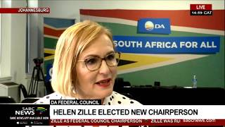 In conversation with newly-elected Democratic Alliance FedCo Chairperson Helen Zille