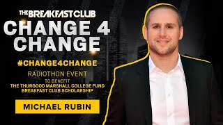 Michael Rubin Kicks Off #Change4Change With A Huge Donation