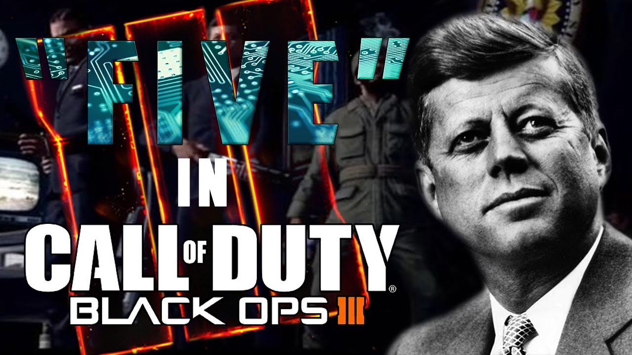 Five Zombies In Black Ops 3 Zombies Jfk And Hudson In Black Ops 3 Zombies Black Ops 3 Story Youtube