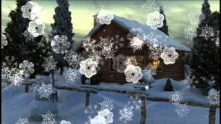 Вечер тихий и морозный... Зимний музыкальный клип для детей