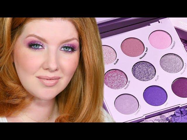 Colourpop Lilac You A Lot Purple Palette | Review, Swatches, Looks