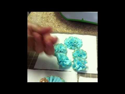 how to make fondant ruffles