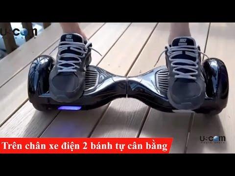 Trên chân xe điện 2 bánh tự cân bằng – USCOM