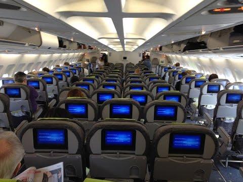 Turbulence Area Flight TAP Portugal Airbus A340 Lisbon Airport to Rio de Janeiro GIG