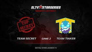 Team Secret vs Team Tinker, SLTV StarSeries X Finals, Day 2, WB Game 2