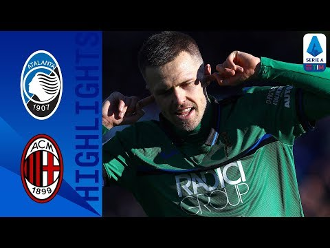Atalanta 5-0 Milan | Iličić At The Double As Rossoneri Suffer Bergamo Woe | Serie A TIM