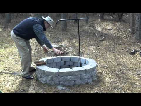 Fire Pit Cooking Grate Demo By Serenity Health Youtube 2 besides BP90038262 as well Homemade Bbcue Pig Spit With Pics furthermore Texsport Rotisserie C  Grill together with Watch. on campfire rotisserie