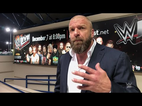 """Triple H sums up an """"epic"""" two days in Abu Dhabi"""