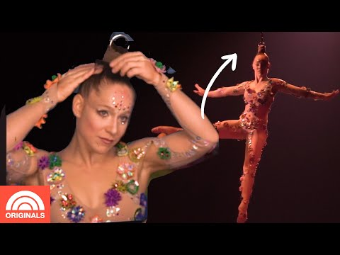 How This Cirque Du Soleil Performer Hangs By Her Hair | TODAY Originals