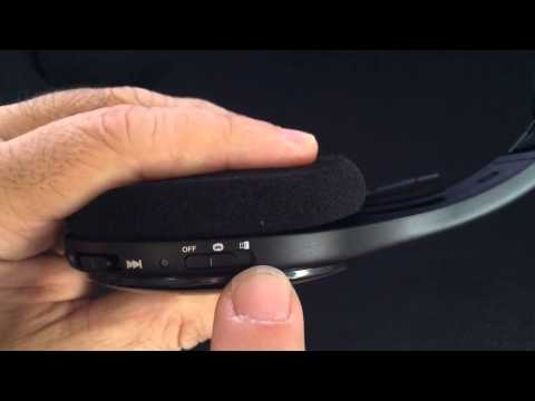 Unboxing And Review Of Logitech H800 Wireless Bluetooth Headset