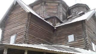 видео Музей «Витославлицы» Новгород музей деревянного зодчества