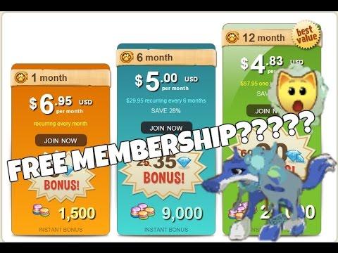 animal jam free membership