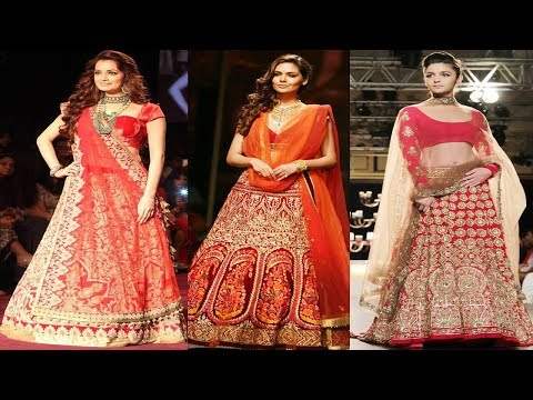 12 Amazing Ehenga Dupatta Draping Styles Learning: what is style