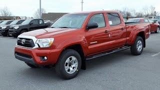 2015 Toyota Tacoma V6 SR5 4X4 Double Cab Start Up, Tour And Review