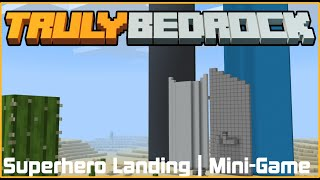 Superhero Landing! Mini-Game | TrulyBedrock SMP: Season 1 - Ep. 21