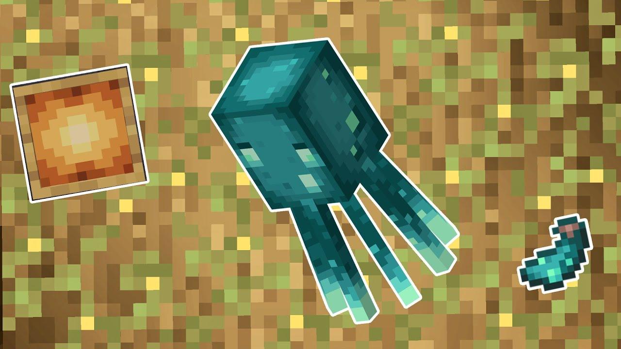 GLOW SQUID DITAMBAHKAN Di Minecraft 1.17 Snapshot 21w03a