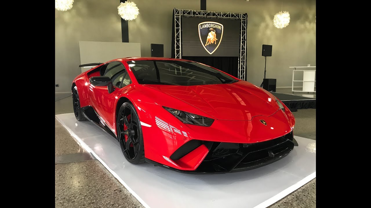 Lamborghini Huracan Performante South Africa Launch Unveiling