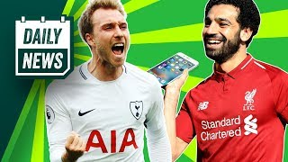 ONEFOOTBALL DAILY: PSG want Eriksen, Salah referred to POLICE + Modrić closer to Inter transfer