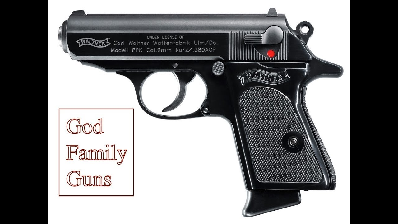 Walther PPK Review: Made by Walther, Made Great by Bond