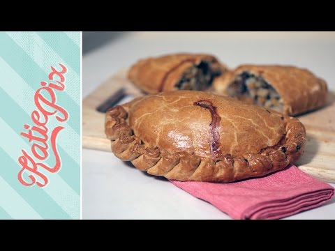 Homemade Steak & Onion Cornish Pasty Recipe  Katie Pix