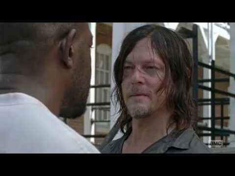 Morgan and daryl The Walking Dead 7x10 clip
