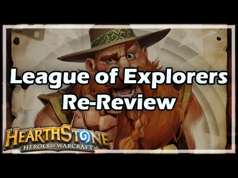 [Hearthstone] League of Explorers Re-Review