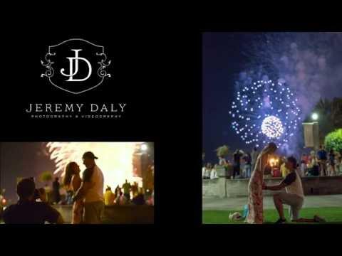 Niagara Falls Proposal Under Fireworks
