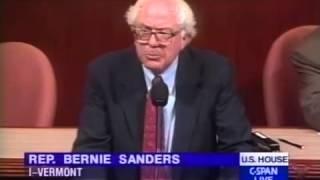 Bernie Sanders on Kosovo (4/28/1999)