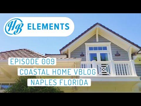 Coastal Home Vlog | Exterior Trim - Exterior Home Design | Naples, FL