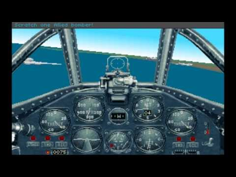 [PC DOS] Aces of the Pacific WWII:1946 - Gameplay