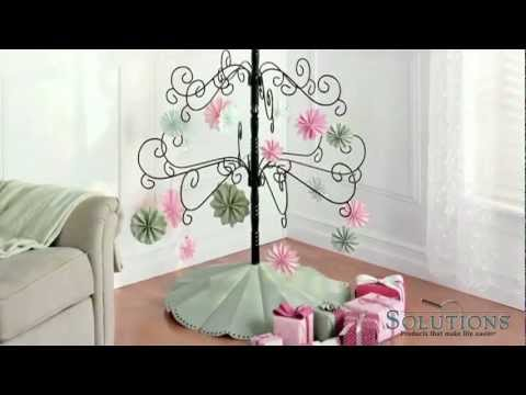 Wrought Iron Tree   Year Round Decoration   Solutions.com ...