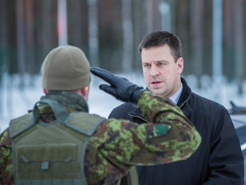Peaminister Jüri Ratas külastas kaitseliitlasi