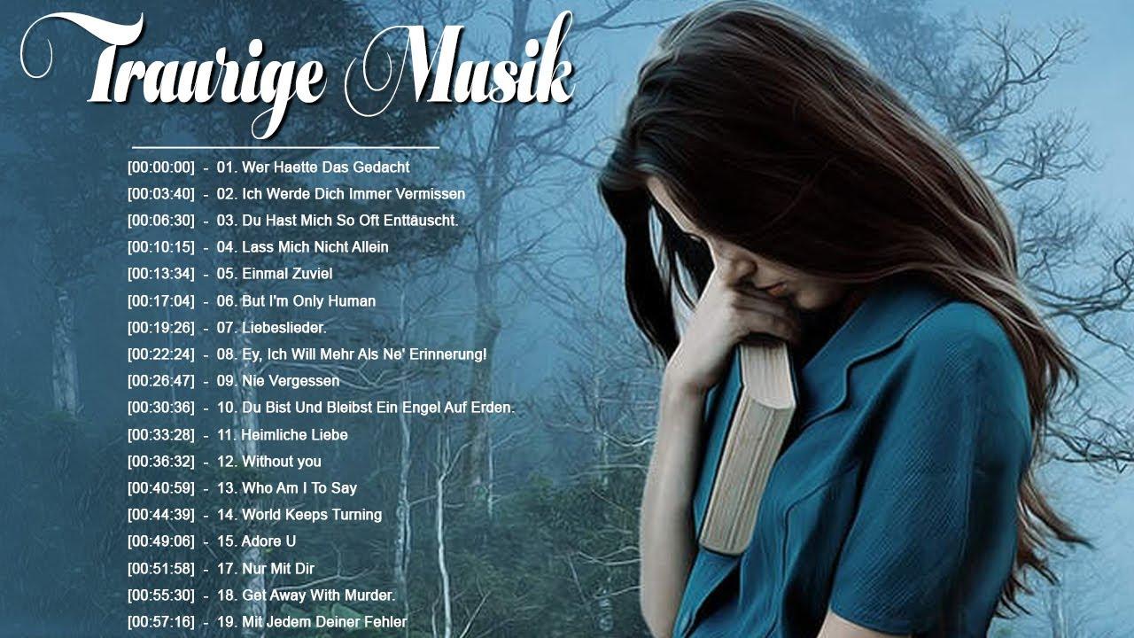 Trauriges Lied Deutsch 2021 😭 Traurige Musik zum Weinen