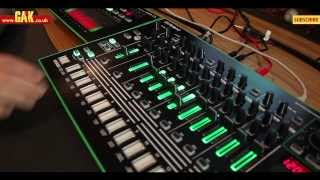 Roland - AIRA TR-8 and TB-3 - Unboxing and demo by James Wiltshire of Freemasons
