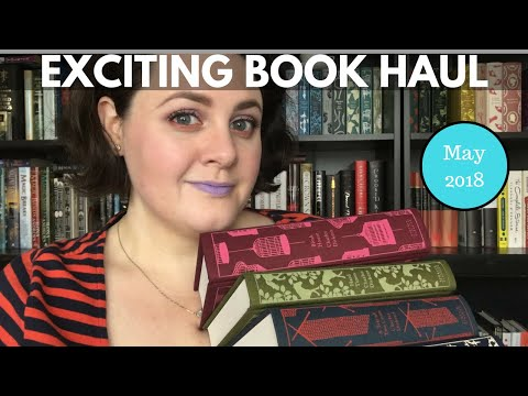 Exciting Book Haul | May 2018